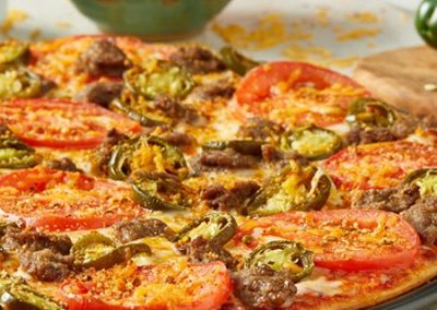 Mariachi Beef® Pizza
